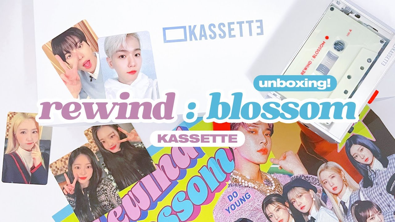 Unboxing Rewind : Blossom Kassette ☆ NCT Doyoung, Baekhyun, IZ*ONE, & More!