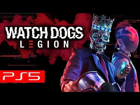 Watch Dogs Legion PS5 Launch Game...