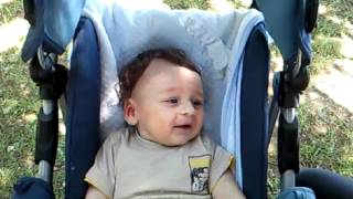 My baby laughing ( DRAGAN 4 months old)