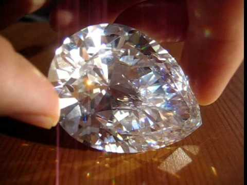 Giant Pear Cut Simulated Diamond Cubic Zirconia Cz 375ct