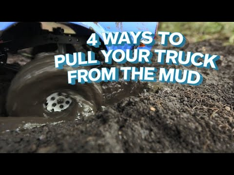 4 Ways to Pull a Truck from the Mud | The Allstate Blog