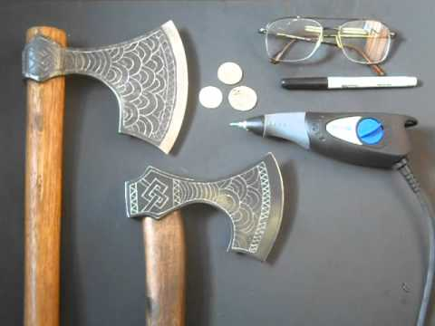 how to make slimey axe head
