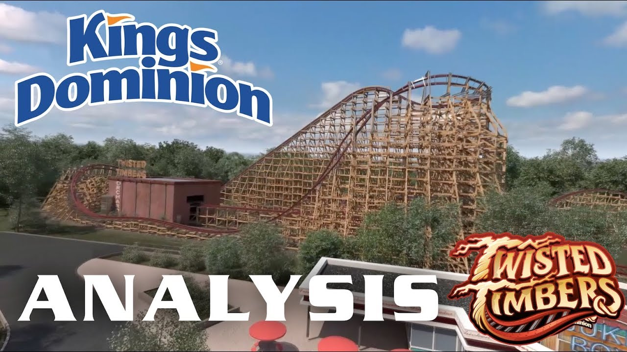 Twisted Timbers Analysis Kings Dominion 2018 RMC Roller Coaster