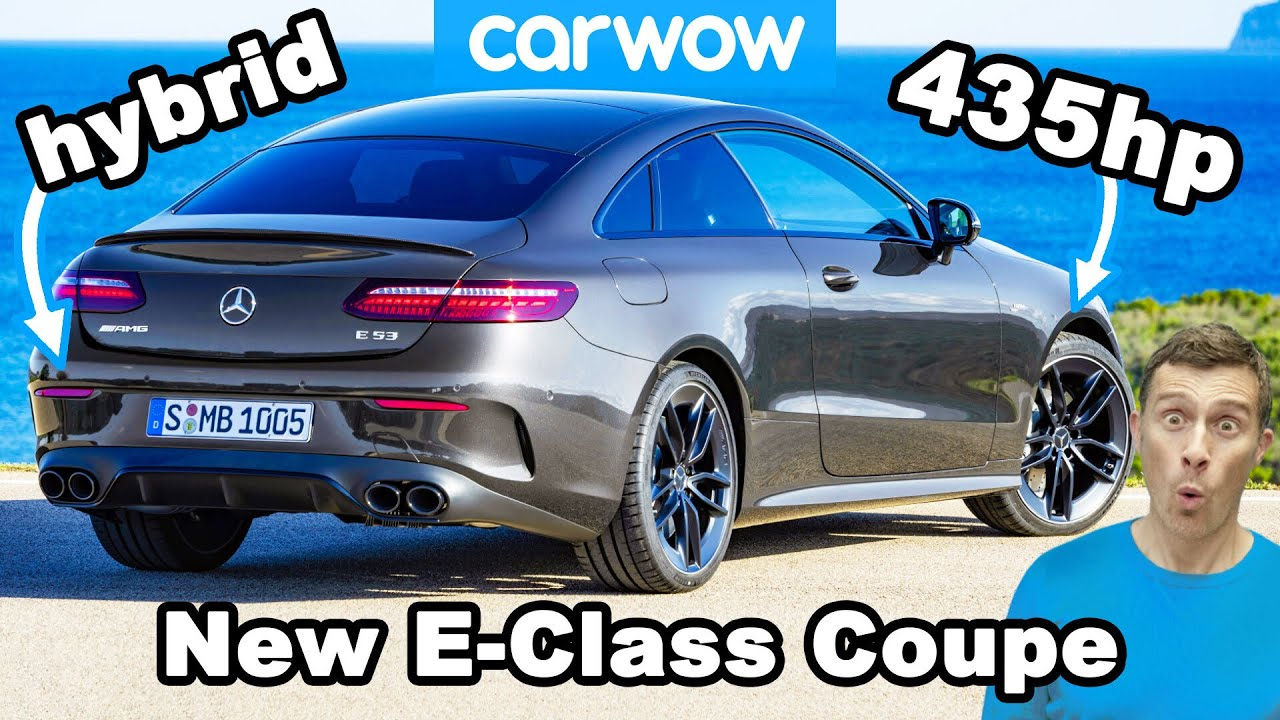 The sexiest car in the world? New Mercedes E-Class Coupe REVEALED!