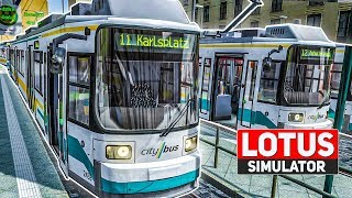 LOTUS Simulator #9: Tram fahren im MULTIPLAYER! | Straßenbahn Simulator