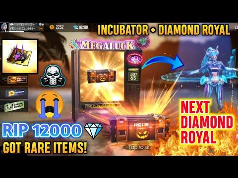 RIP 12,000 Diamonds In Luck Royal 😭 Unlocking NEXT Diamond Royal , Incubator & WEAPON ROYAL 🔥