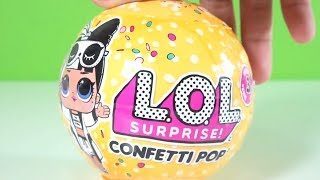 L.O.L Confetti Pop Açtık Olamaz ! İkiz LOL Bebek mi Çıktı? #lolbebek