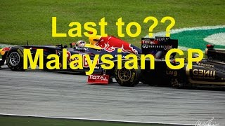 F1 2011 (3DS) Last to?? Ep 2 - Malaysian GP