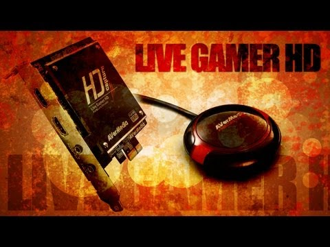 AVerMedia - Live Gamer HD | UNBOXING | INSTALLATION | GAMEPLAY FOOTAGE