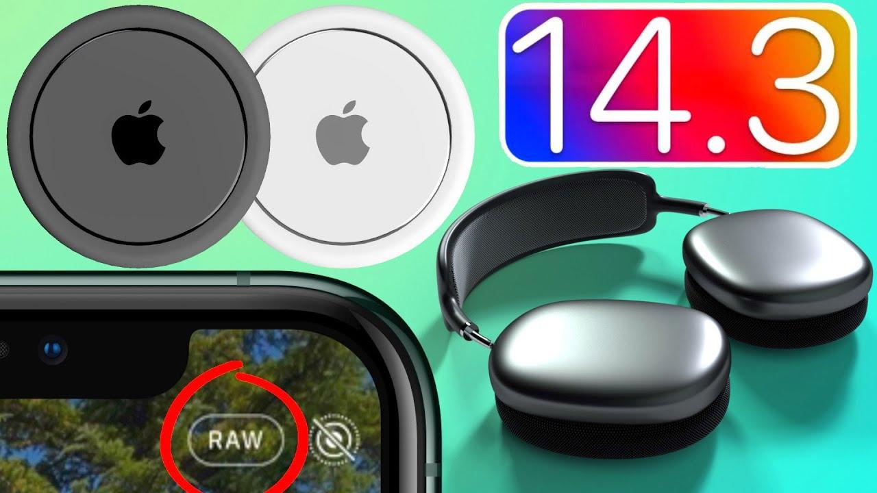 iOS 14.3 полный обзор: 12 новых функций и скрытые фишки! AirTag и AirPods Studio в айос 14.3 beta 1