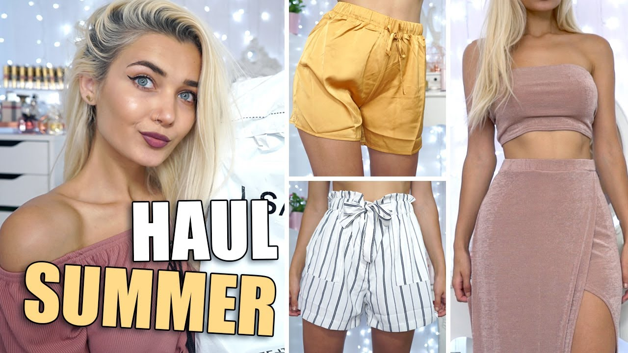 HUGE SUMMER CLOTHING TRY ON HAUL! ☀ I SAW IT FIRST AD