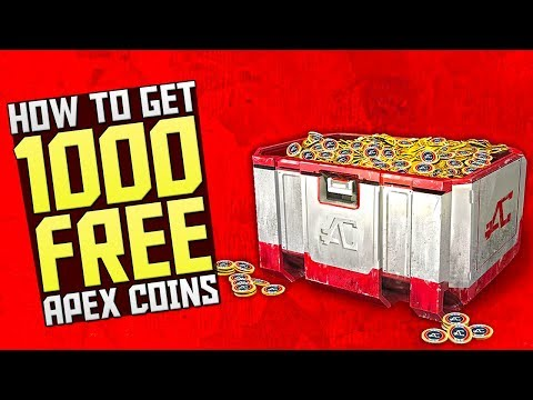 GET 1000 FREE APEX COINS in APEX LEGENDS - HOW TO GET SEASON 1 BATTLEPASS FREE in APEX LEGENDS