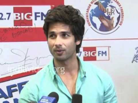 I am not choosy about characters says Shahid Kapoor