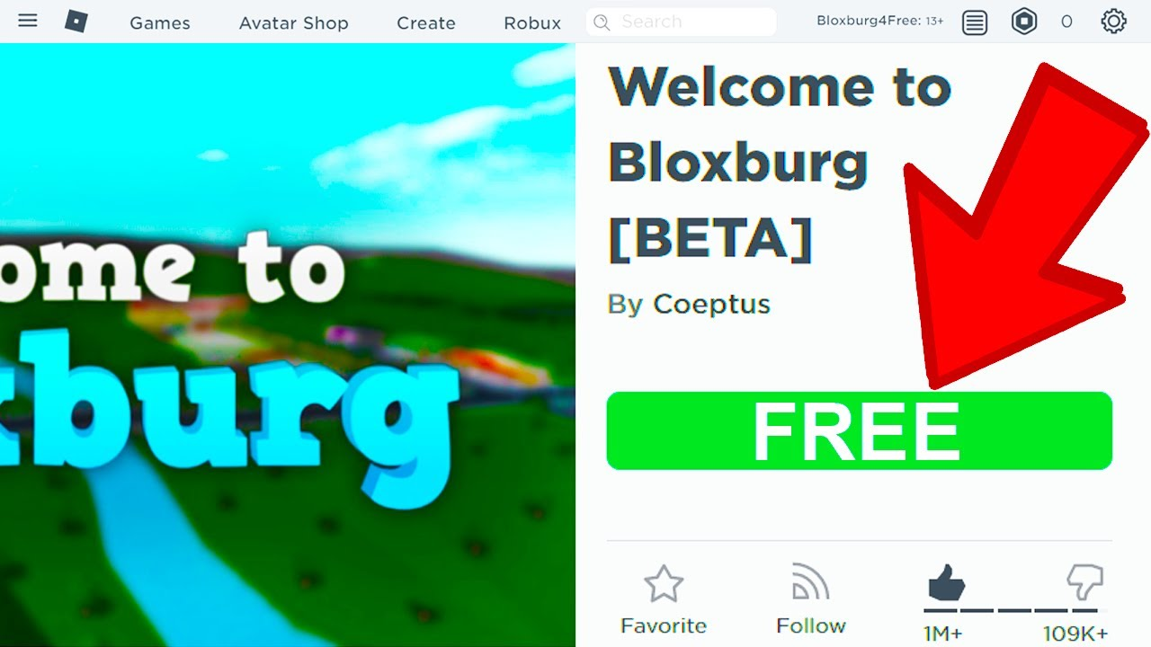 Can You Play Bloxburg For Free? (Roblox) YouTube