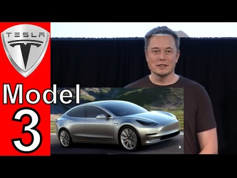 Elon Musk Talks About The Tesla Model 3