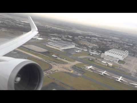 American Airlines Boeing 767-300ER Takeoff From CDG