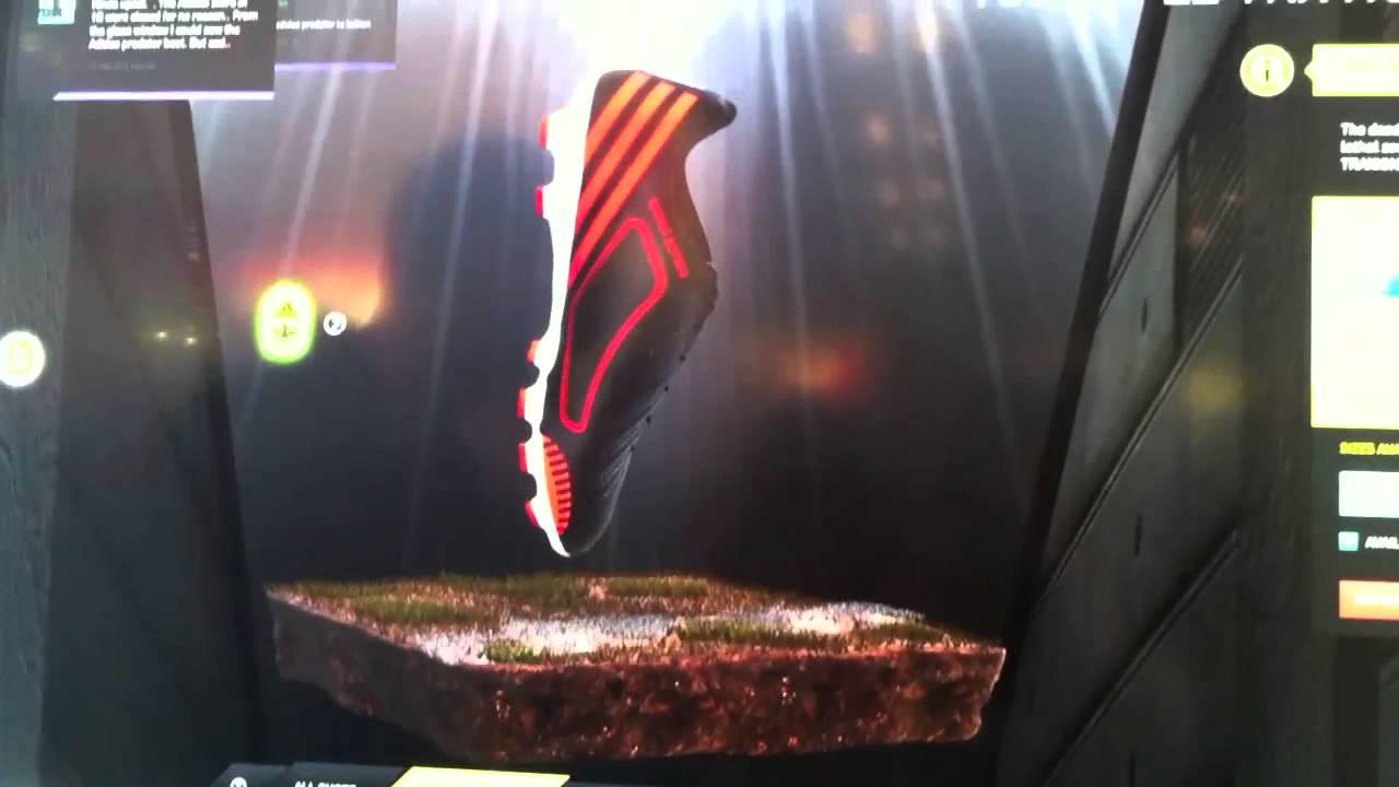 67e2b006c7b52 The Adidas Virtual Footwear Wall - YouTube