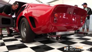Ferrari 250 GTE Factory Converted to a Replica 250 GTO - Revving and Idling