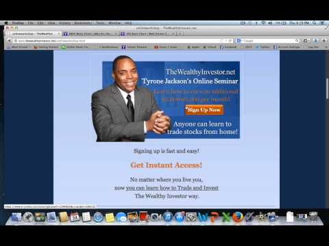 Wealthy Investor Online Stock Market Workshop