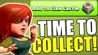 TIME TO COLLECT!..............SUPERCELL HAS GONE CRAZY WITH EVENTS!