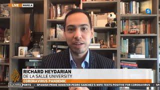 Manila Lockdown: Aljazeera English Interview w/ Richard Heydarian