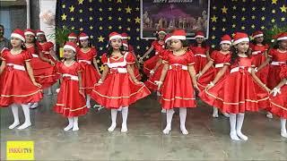 Christmas Dance By Mid School children