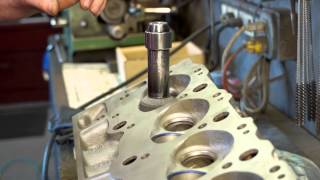 Refurbishing the seats and milling the cylinder heads - The Build