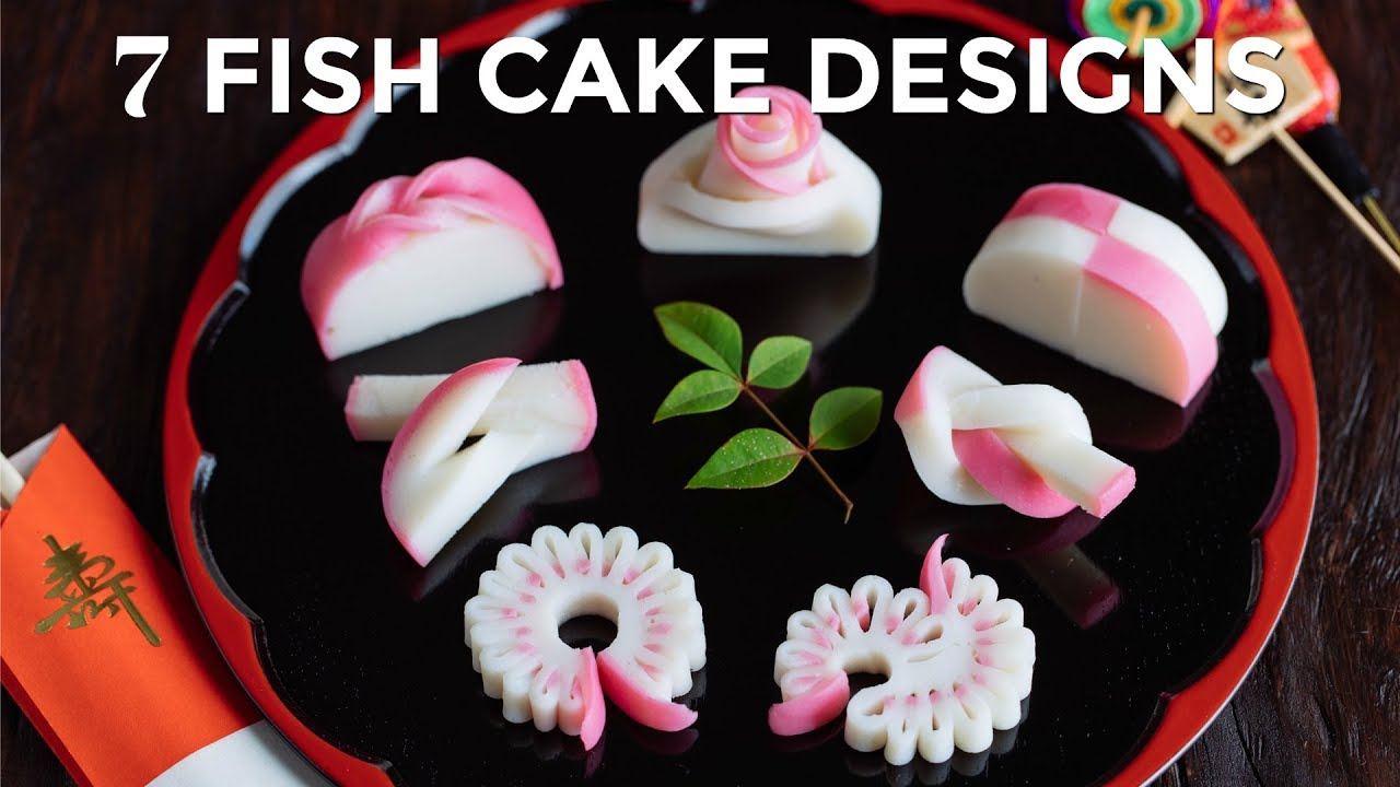 7 Beautiful Designs To Cut Japanese Fish Cake O Just One Cookbook