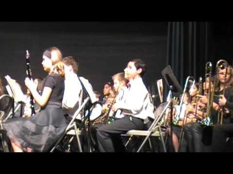Porter Ridge Middle School Band of Pirates - 6th Grade Concert 2016