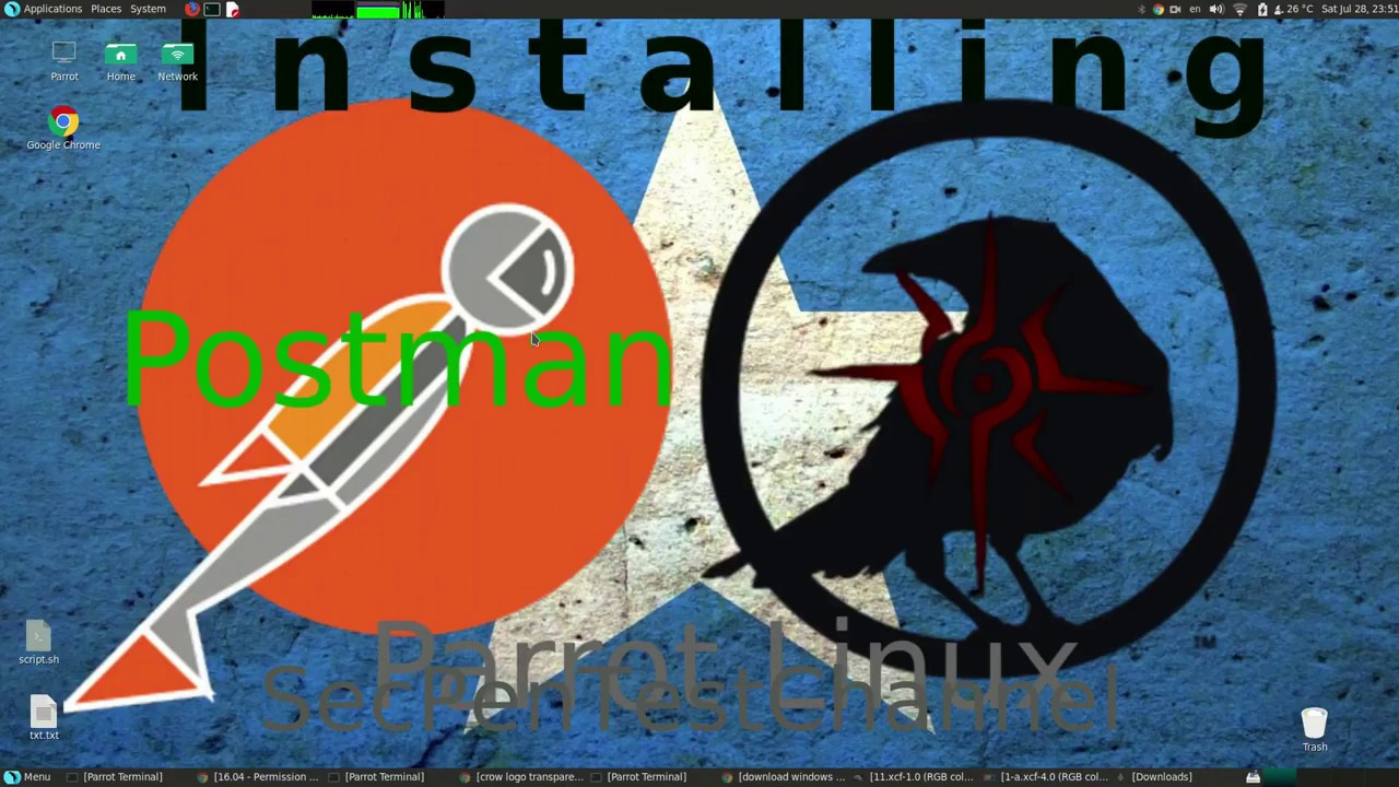 How to Install Postman API Testing tool with Terminal on Parrot Security  Linux
