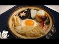 鍋焼きうどん♪ Nabe Yaki Udon noodle♪ ~手打ちのごん太麺で!~
