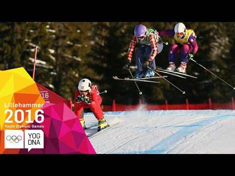 Freestyle Skiing - Ski Cross - Full Replay | Lillehammer 2016 Youth Olympic Games