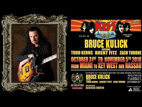 Bruce Kulick Band On KISS Kruise VIII 11.03.18