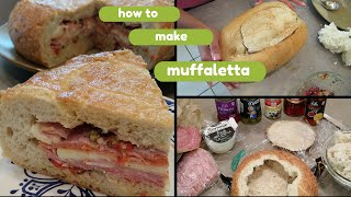 VEDA DAY 8  How to Make Muffaletta  Easy Family Lunch  VLOGUST