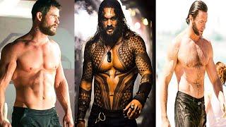 THOR VS AQUAMAN VS X-MEN WORKOUT ( Chris Hemsworth vs Jason Momoa vs hugh jackman )