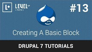 Drupal Tutorials #13 - Creating A Basic Block