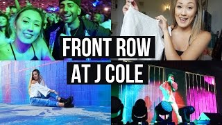 FRONT ROW AT BIG SEAN & J COLE WITH FOUSEY & HAUL! | LaurDIY