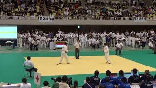 11日 柔道女子 個人 3回戦 52Kg 谷口vs坪根