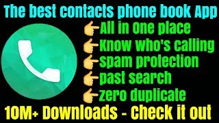 The Best Contacts Phone book with Dialer,SMS, Caller ID & Spam Block screenshot 4