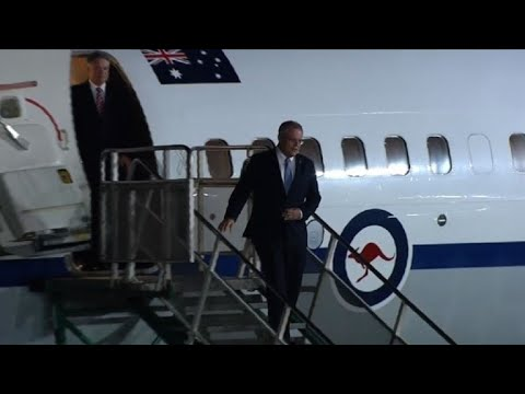 Australian PM Morrison arrives in Buenos Aires ahead of G20
