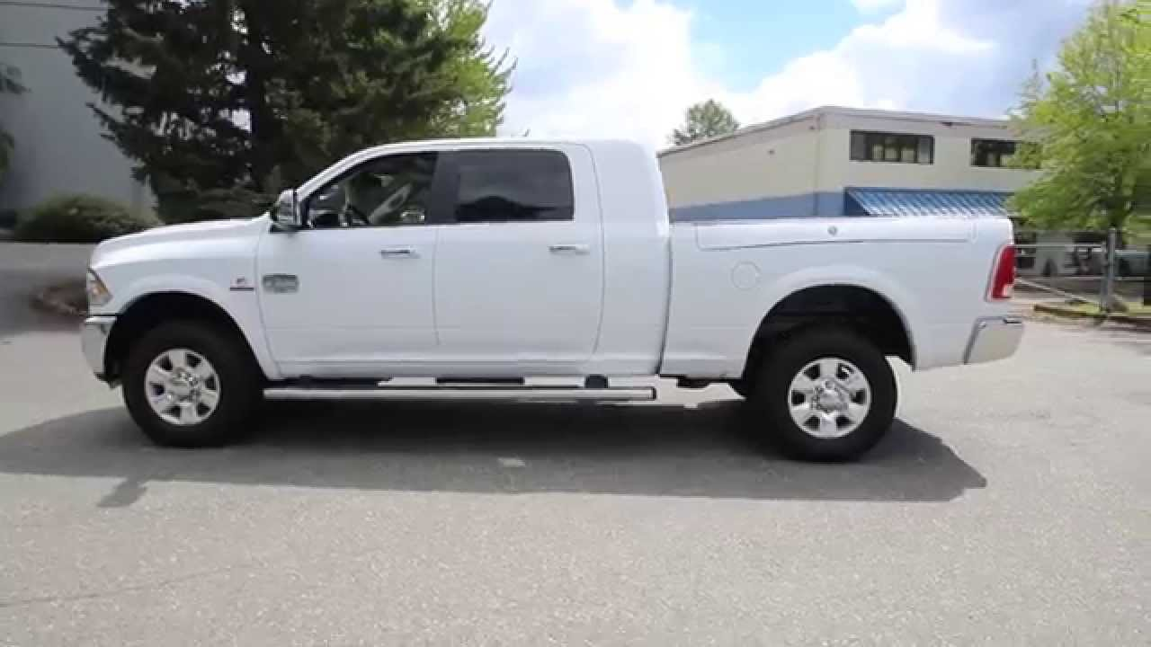 2015 dodge ram 2500 laramie longhorn mega cab white for Long windows for sale