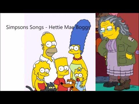 Simpsons song - Hettie Mae Boggs - Season 27