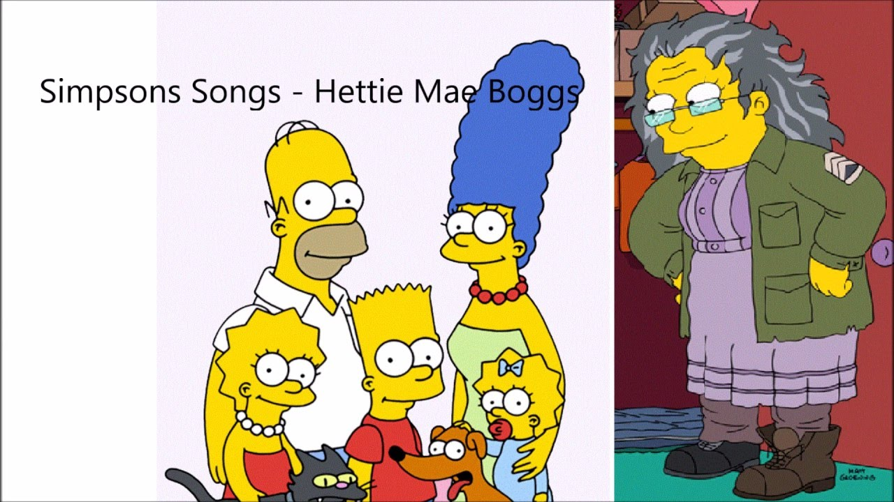sc 1 st  YouTube & Simpsons song - Hettie Mae Boggs - Season 27 - YouTube