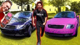 Spray Painting My Friends Car Pink PRANK