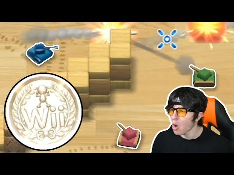 How I got PLATINUM in Tanks (Wii Play)