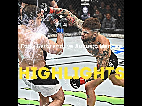 Cody Garbrandt vs Augusto Mendes [FIGHT HIGHLIGHTS]