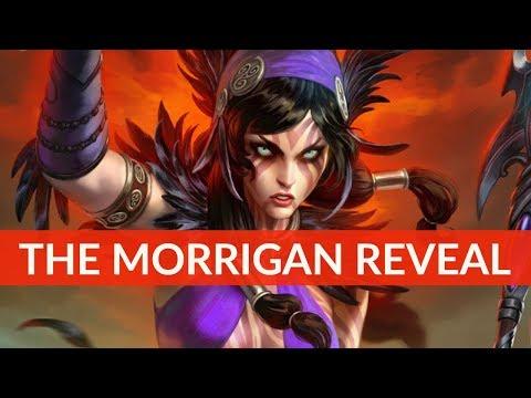 SMITE The Morrigan God reveal