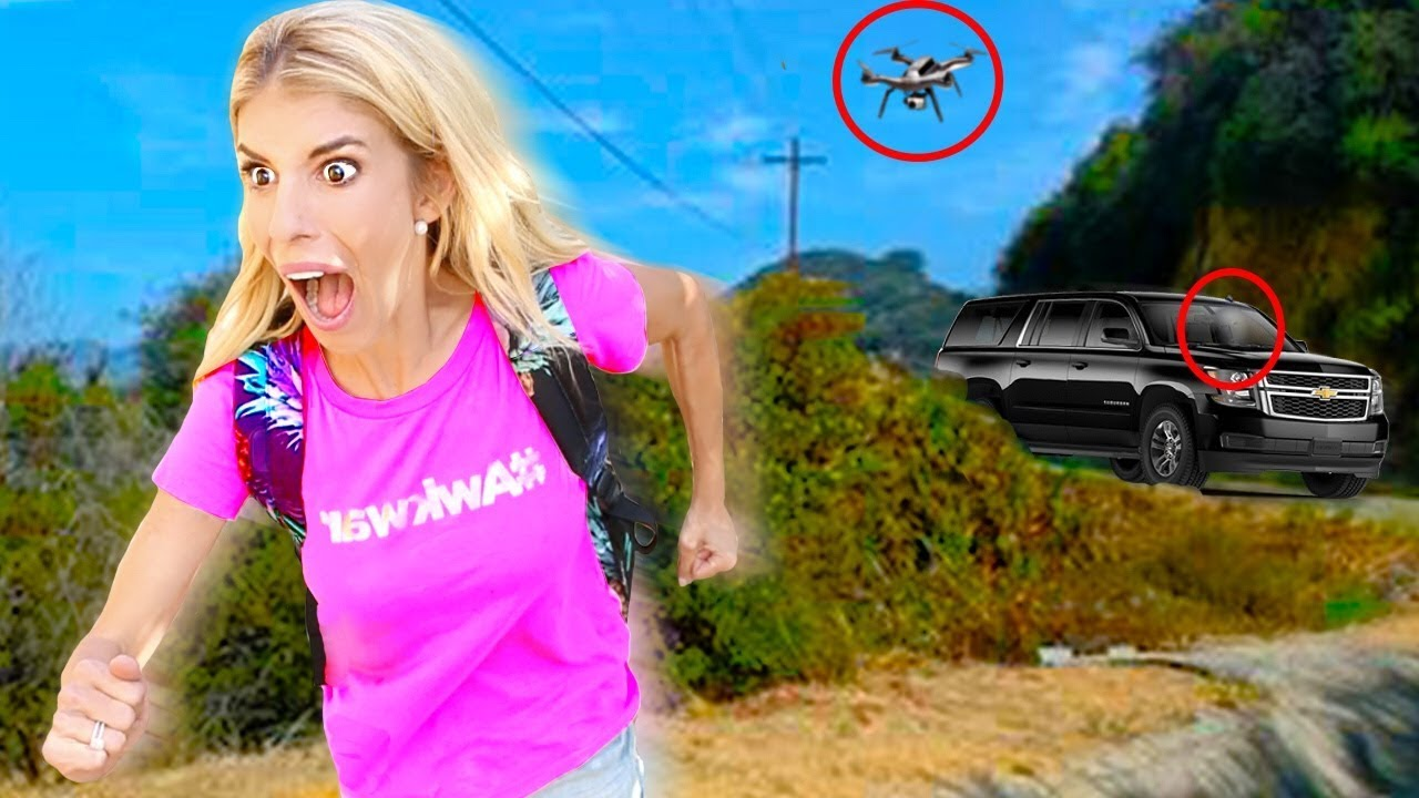 Escaping the Game Master's TRAP! Exploring ABANDONED TOWN with SECRET Hidden Messages!