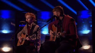 Chase Goehring and James Arthur Duet America's Got Talent 2017 GTF