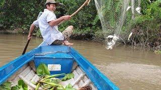 Bão cá P1: Clip k cắt mời các bạn đi trải nghiệm 2 dạo nước chiều cá quằng tay | Săn bắt SÓC TRĂNG |